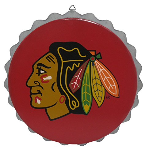 - Chicago Blackhawks 2015 Metal Bottle Cap Wall Sign