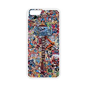 iPhone 6 4.7 Inch Cell Phone Case White Avengers kgnd