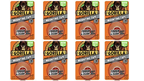 gorilla-6065001-8-double-sided-tough-and-clear-mounting-tape-8-pack-1-x-60-clear