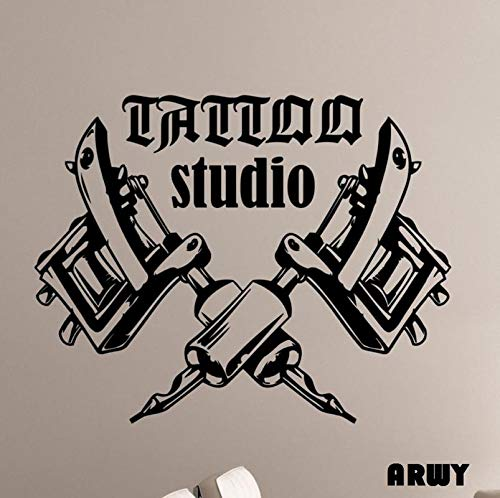 Buy Arwy Salon Wall Stickers Removable Art Wallpaper Tattoo Machines Wall Stickers For Tattoo Salon Room Decor 58x76 Cm Online At Low Prices In India Amazon In A collection of the top 32 tattoo art wallpapers and backgrounds available for download for free. buy arwy salon wall stickers removable