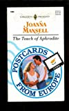 Front cover for the book The Touch of Aphrodite by Joanna Mansell