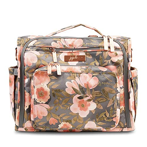 JuJUBe B.F.F. Multi-Functional Convertible Diaper Backpack/Messenger Bag - Whimsical Whisper