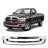 MBI AUTO - Chrome Steel - Front Bumper Face Bar for 2002-2008 Dodge RAM 1500 & 2003-2009 Dodge RAM 2500 3500 Pickup - CH1002383