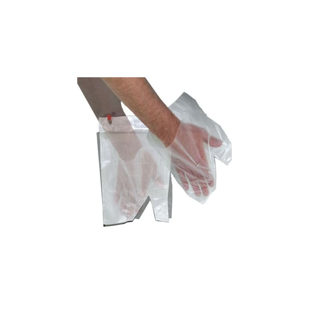 Pak-Sher 5486 Sher-Mitt Kitchen Prep Clear Mitt - 2000 / CS