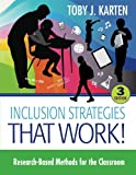 Inclusion Strategies That Work! 3rd Edition