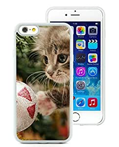 Popular Sell Case Cover For SamSung Galaxy Note 4 Christmas Cat White Hard Case 39