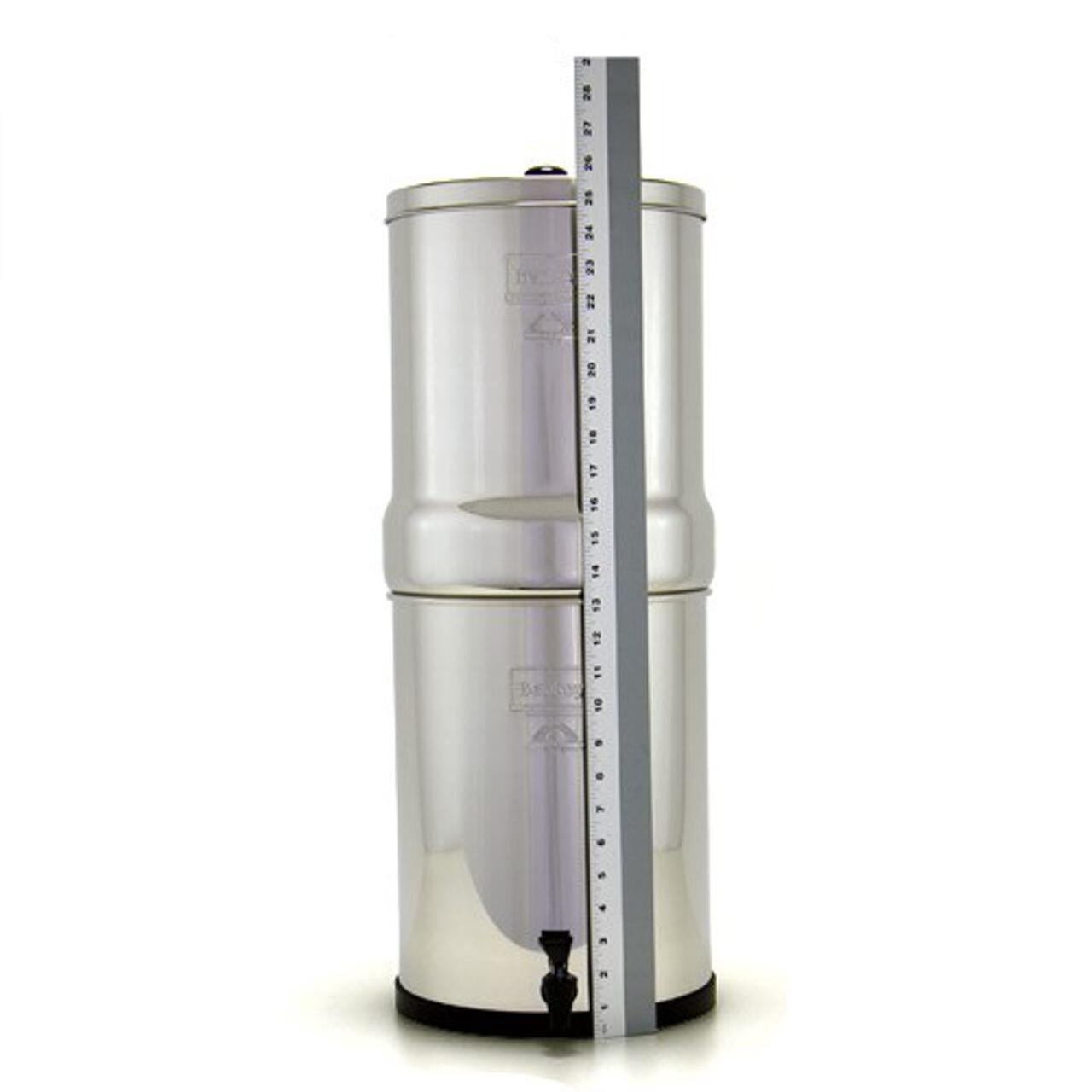 Berkey IMP6X6-BB Imperial Water Purification System with 6 Black Elements