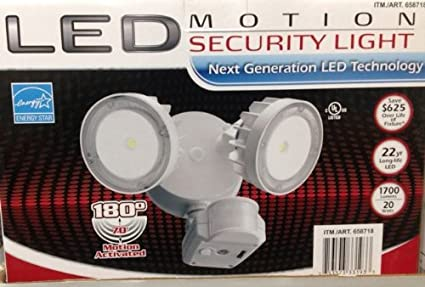 Lithonia 2 head led security light motion sensing flood light lithonia 2 head led security light motion sensing flood lightfloodlight commercial aloadofball Gallery