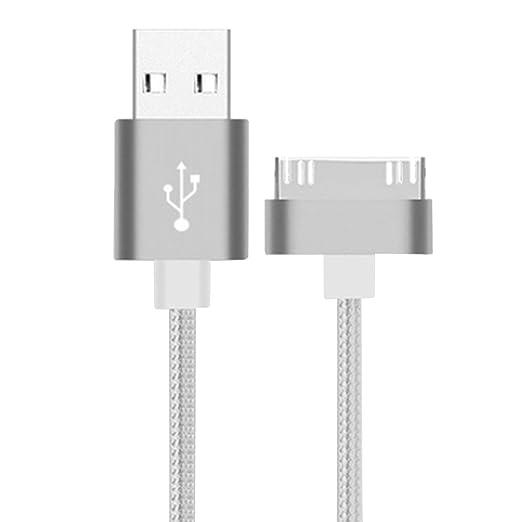 13 opinioni per Cuitan 1m Durevole Lega di Alluminio + Nylon Intrecciato USB Cavo di Ricarica /
