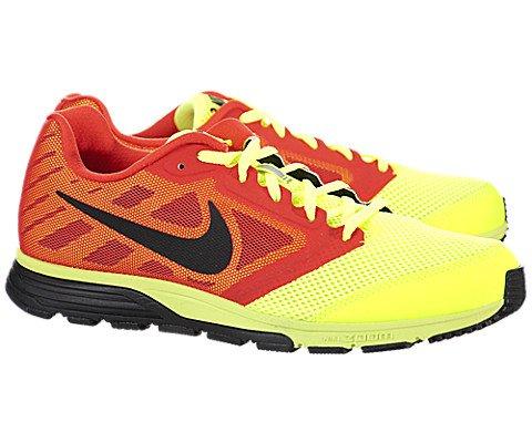 Nike Zoom Fly - Volt / Black-Light Crimson, 10 D US