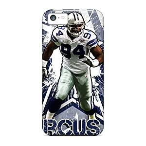 For Iphone 5c Tpu Phone Case Cover(dallas Cowboys)