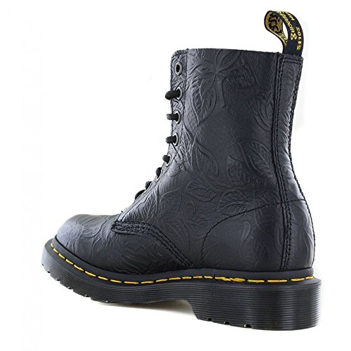 Black Martens Pascal 24002001 Dr 8 Emboss Boots 1460 Womens Eye TqnZz