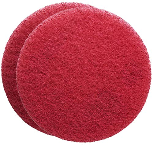 Flexi Acrylic - FLEXIS KGS Floor Cleaning & polishing Pads 7 inch, grit 400 - red (2 Pack)