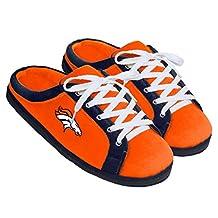 NFL Denver Broncos Unisex Sneaker Slide Slipper Small