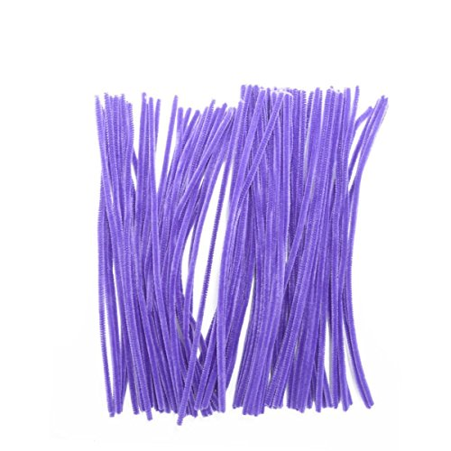 Purple Chenille Stems - Saim Pipe Cleaners Chenille Stems 12