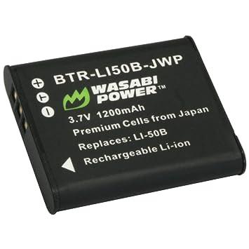 Amazon.com: Wasabi Power – Batería y Cargador para Olympus ...