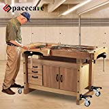 SPACECARE Workbench Casters kit 600Lbs Heavy Duty