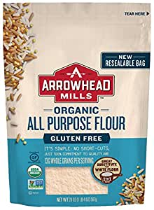 Arrowhead Mills Organic Gluten-Free All-Purpose Flour, 20