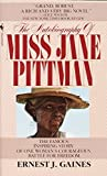 Book cover from The Autobiography of Miss Jane Pittman by Ernest J. Gaines