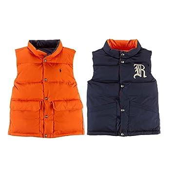 4eb43c549825e Image Unavailable. Image not available for. Color  Ralph Lauren Polo Baby  Boys Elmwood Reversible Down Vest Jacket (18 Months)