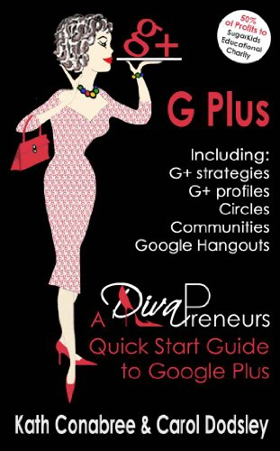 GPlus.  Google Plus Strategies, Profiles, Circles, Communities, Hangouts all included. A DivaPreneurs Quick Start Guide to Google Plus!