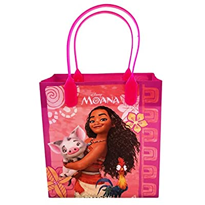 Disney Moana 12 Pcs Goodie Gabs Party Favor Bags Gift Bags Birthday Bags: Toys & Games