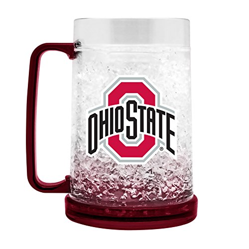 State Freezer Mug - NCAA Ohio State Buckeyes 16oz Crystal Freezer Mug