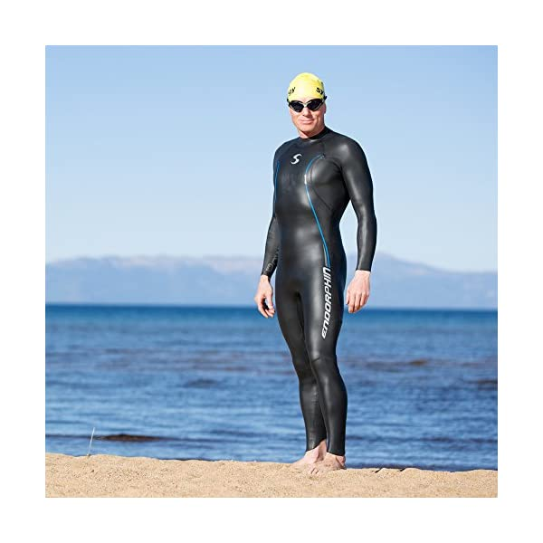 f2ed300e1dd Synergy-Triathlon-Wetsuit-53mm-Mens-Endorphin -Fullsleeve-Smoothskin-Neoprene-for-Open-Water-Swimming-Ironman-Approved