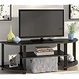 Zipcode Design Tracy 47.25 TV Stand (Espresso/Black)