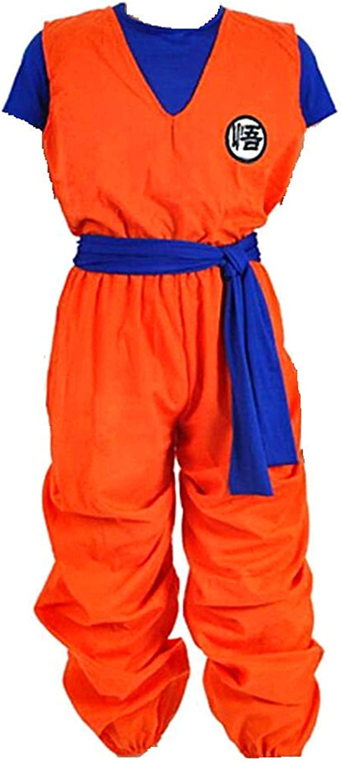 Charous Anime Dragon Ball Son Goku disfraz de Halloween Uniformes ...