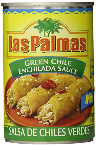 Las Palmas Enchilada Sauce, Mild Green Chile, 10 Ounce (Pack of 24) (Best Green Enchilada Sauce Recipe)