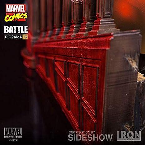 Marvel Comics Diorama 1/6 Wolverine vs Juggernaut 44 cm Iron ...