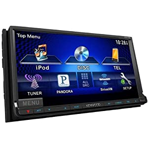 "DDX770 Car DVD Player - 7"" Touchscreen LCD - 88 W RMS - Double DIN"