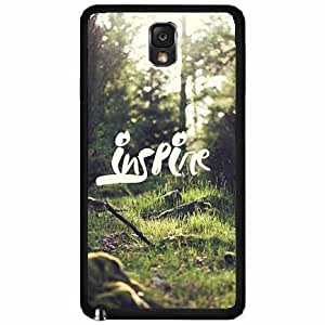 Green Grass Inspire TPU RUBBER SILICONE Phone Case Back Cover Samsung Galaxy Note III 3 N9002