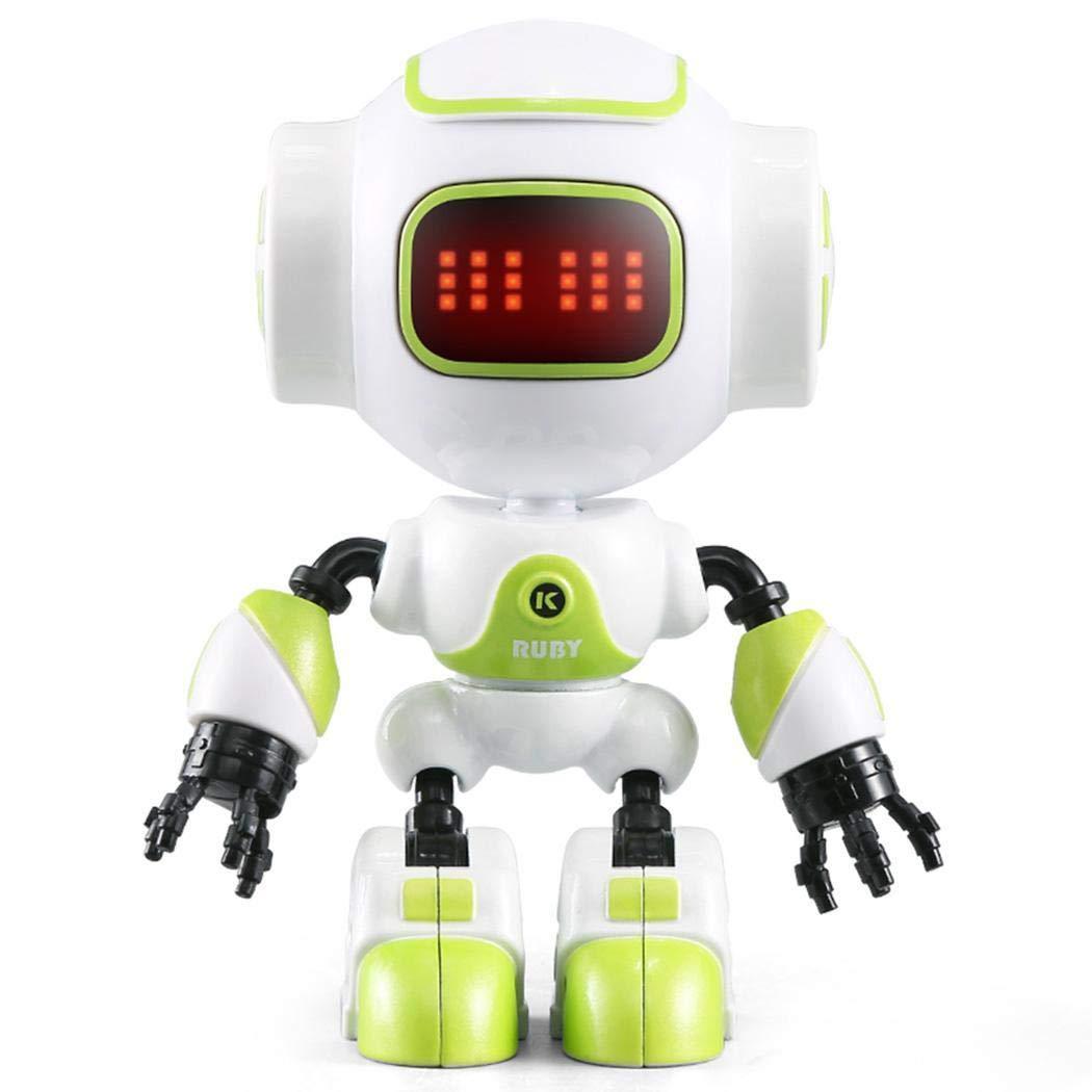 Tiowea Kinder LED Eye Touch Sensing Musik Roboter Spielzeug Spiel Gesc Transport & Verkehr