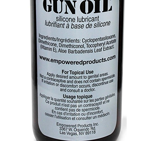 Gun Oil Premium Silicone Based Personal Lube Lubricant Fortified with Special Botanicals Safe for Toys. (+ Free Lubricant) : Net Wt 16 Oz (Pack of 3) by Gun Oil