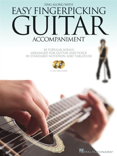 Sing Along with Easy Fingerpicking Guitar Accompaniment: 2 CDs Included! (Guitar - Sing Sheet Along