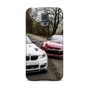 PatalariaShelafe Dxa16153JQGq Cases For Galaxy S5 With Nice Bmw E92 M3 Nissan Gtr R35 Appearance