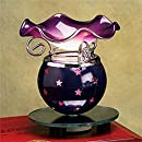 StealStreet SS-A-59255 Electric Aroma Oil Burner, Purple Star