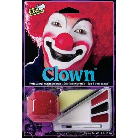 Clown Costume Makeup Kit (Cheap Special Effects Makeup)