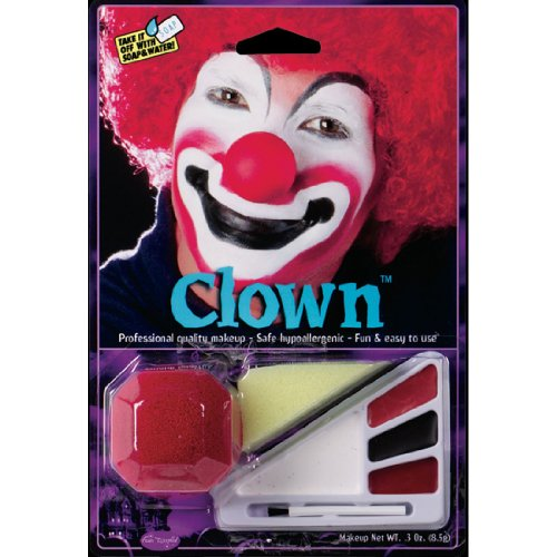 Ideas For Clown Costumes (Clown Costume Makeup Kit)