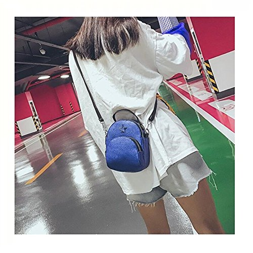 Simple Blue Satchel La À Pour Et À GWQGZ Facile Mode Sac Main Rose Sac À Bandoulière Dames wHnF4fPq