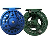 AventikINT Aluminum Alloy Body Fly Reel Die Casting Fly Fishing Reel Super Large Arbor Fly Fishing Trout Reel For Freshwater and Saltwater Review