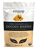 Extreme Health Usa Organic Golden Berries Covered with Dark Chocolate, 6-Ounce by Extreme Health USA