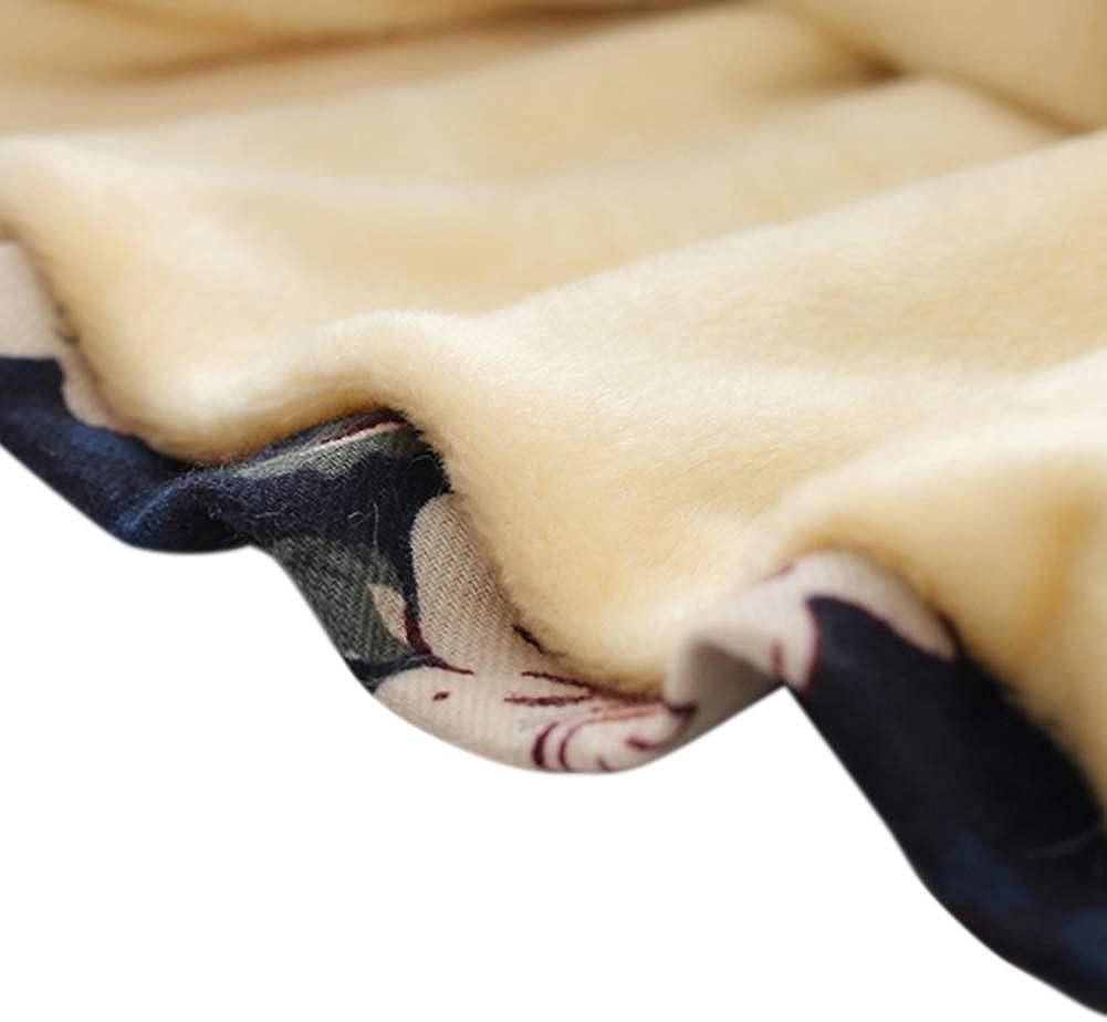BOBORA V/êtements B/éb/é Filles Hiver Robe Chaude Epaisse pour B/éb/é Fille /à Manches Longues avec Manteau De Gilet en Fausse Fourrure