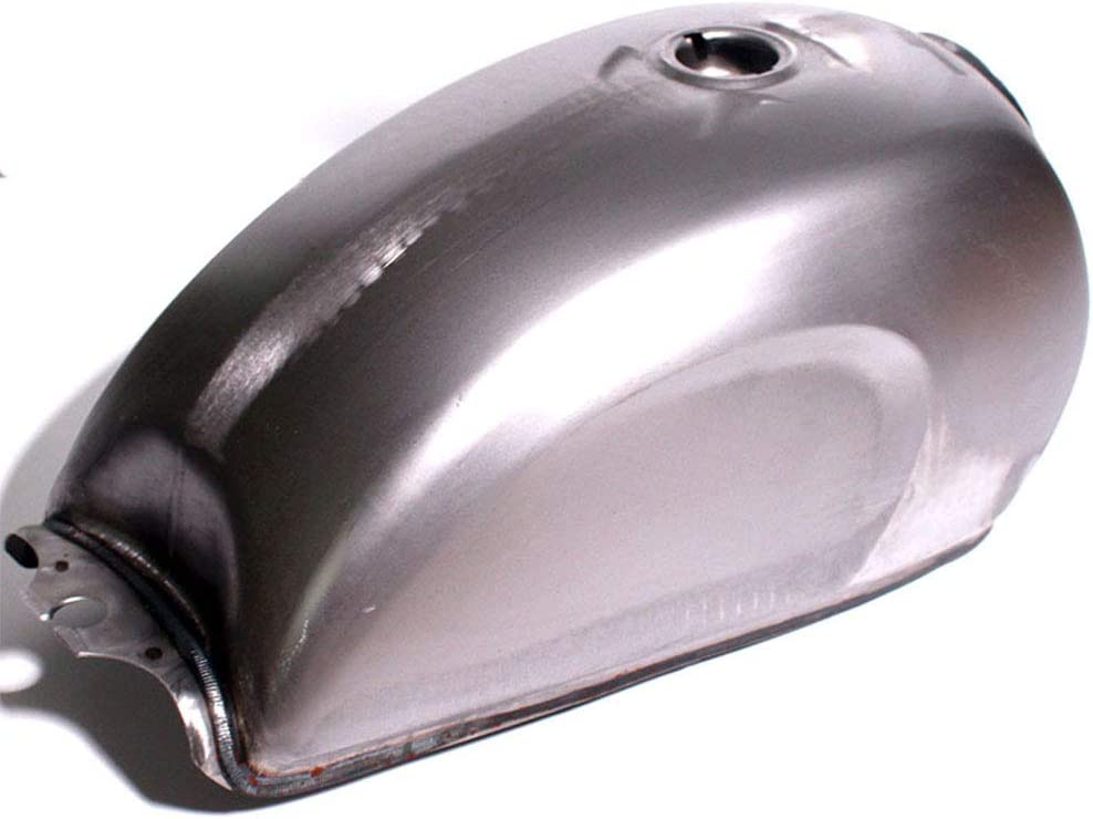 AKDSteel 9L Universal Motocicleta Gas Combustible Tanque Caja de Aceite Crudo Metal Desnudo Cafe Racer Scrambler para CFMOTO Mandrill Pr/áctico Accesorio para autom/óviles