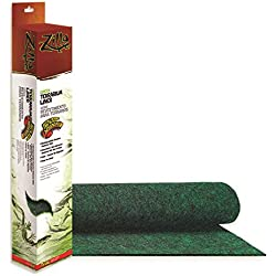 Zilla Reptile Terrarium Bedding Substrate Liner, Green, 75G