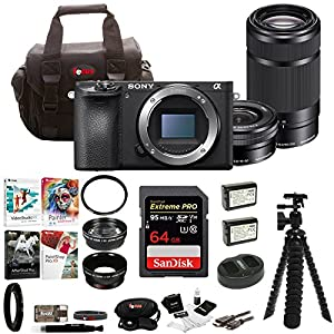 Sony Alpha a6500 Digital Camera Bundles