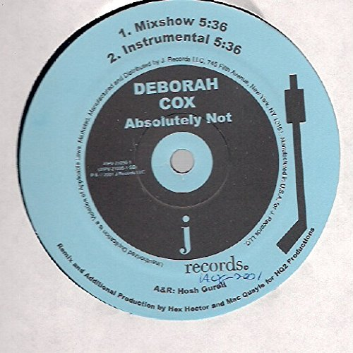 Deborah Cox - Deborah Cox: Absolutely Not 12
