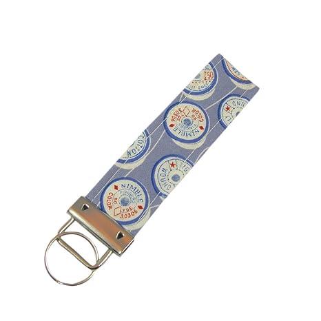 Amazon.com: Llavero de hilo de coser para llaves, llavero de ...